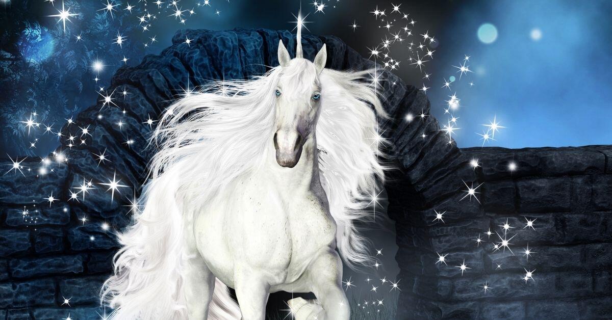 Do Unicorns Have Magical Powers? - A Sparkling White Unicorn