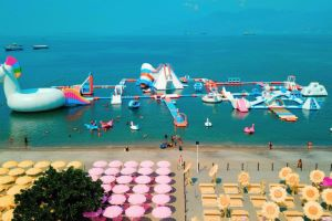 Inflatable Island in Philippines - Floating Playground