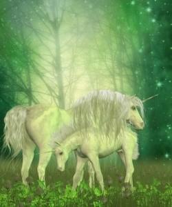 how do unicorns live eating grass