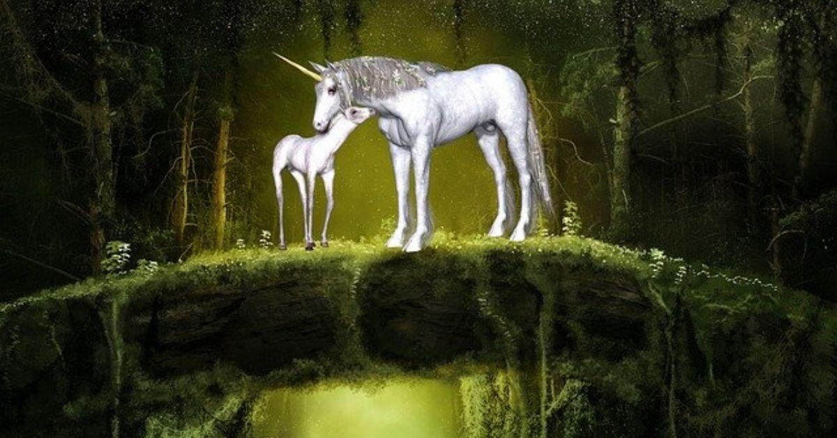 How Do Unicorns Live - Unicorn Mom and Baby