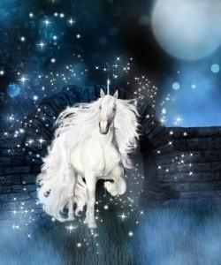 healing unicorn hair