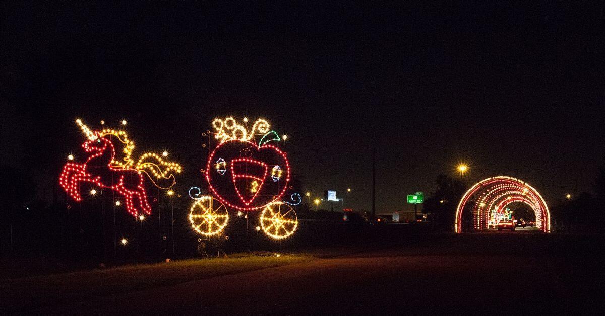 Unicorn Christmas Lights