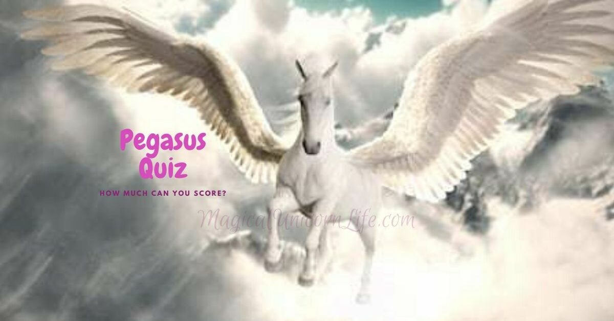 Pegasus Quiz - Flying Pegasus