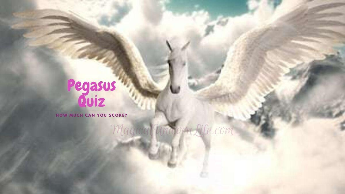 Pegasus Quiz - Flying Pegasus