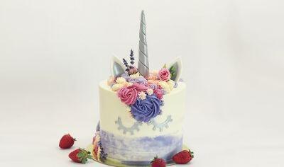Unicorn Summer Cake