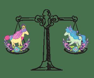 Unicorn Horoscope Libra-Corn